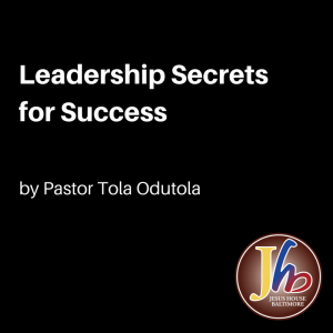 Leadership Secrets for Success-2