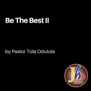 Be The Best II
